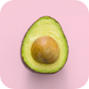 Green food avocado