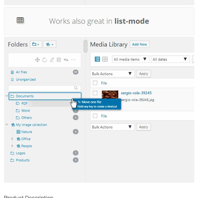 Real Media Library Plugin
