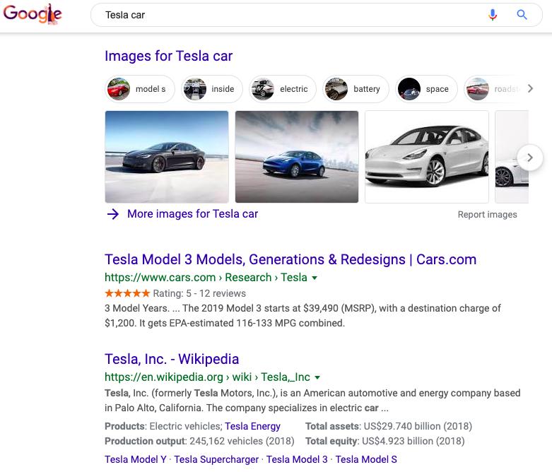 Google results seo