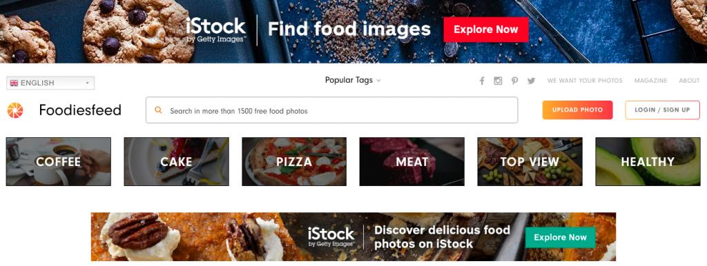 iStock image gallery