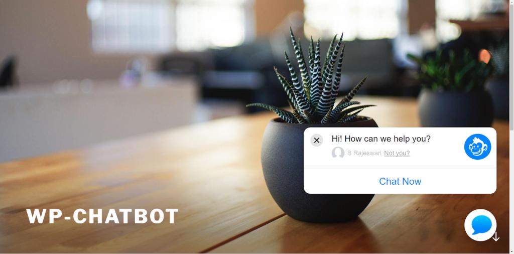 wp chatbox interface