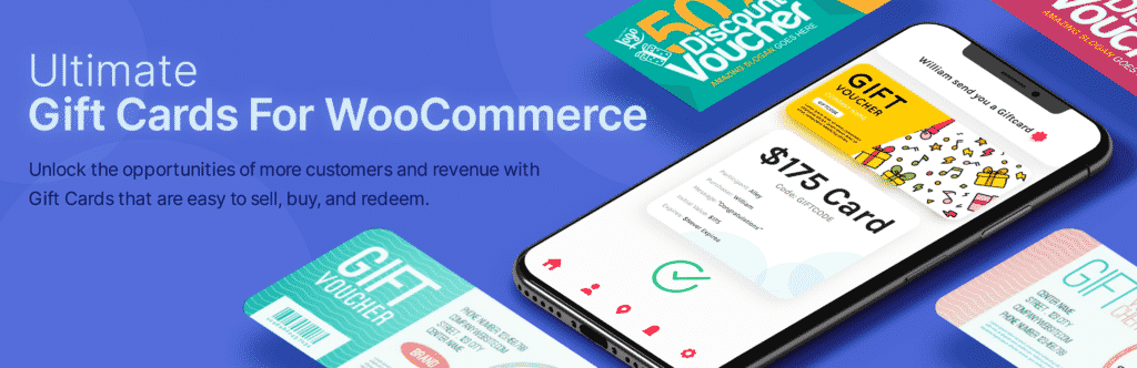 Ultimate gift card for WooCommerce