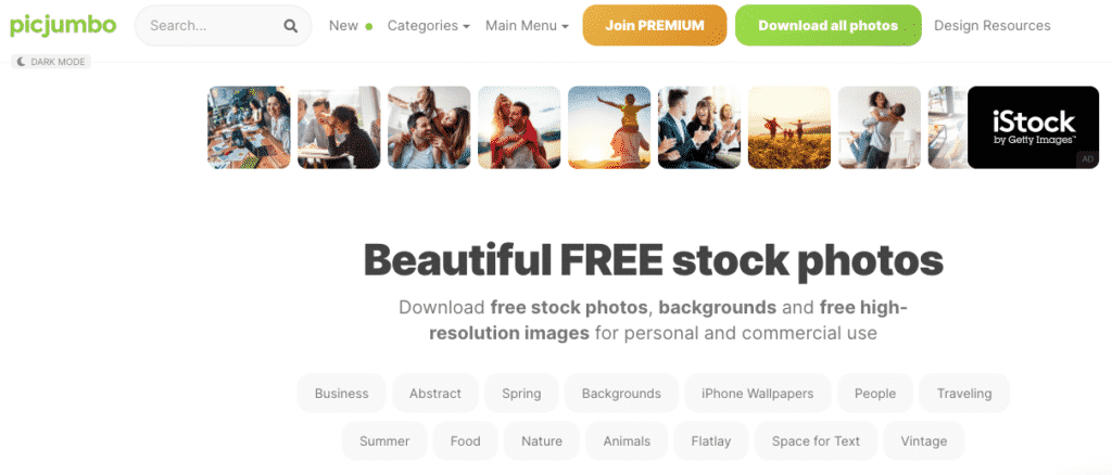 picjumbo beautiful free stock photos